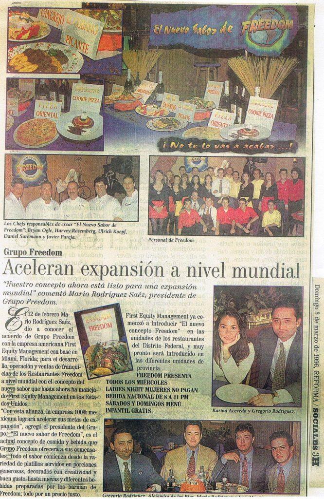 Periodico National de Mexico DF