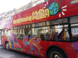 Malta Tour Bus..we had a great time traveling over the whole island