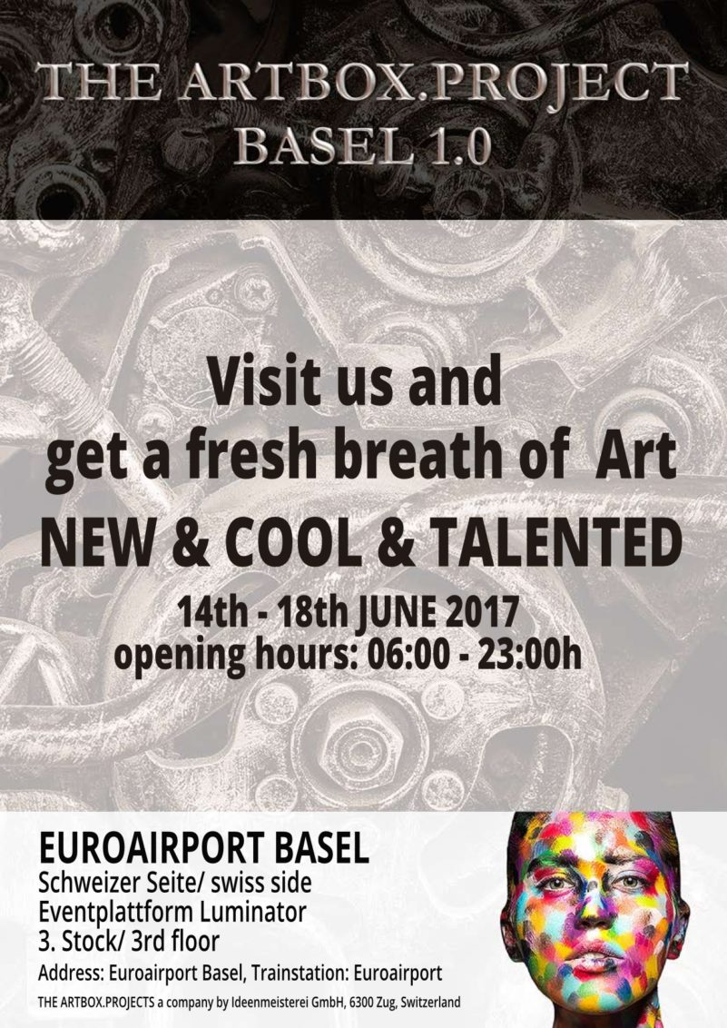 Talents at the Artbox Project 2017 in Basel