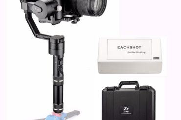 The use of a ZHIYUN 3-Axis Crane Stabilizer